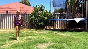 Jannah Backyard Gymnastics Feb 2, 2014 YouTube - Gogo Papa