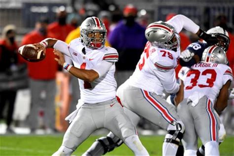 In empty white out, No. 3 Ohio State beats Penn State 38 ...