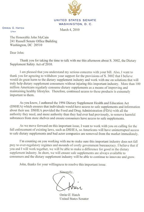 trustee demand for information template texas orrin hatch letter to john mccain about s 3002 citizens