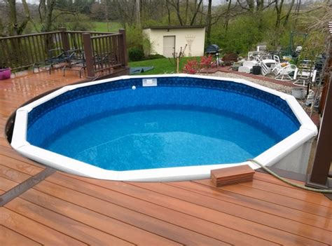 Above Ground Pool Safety Cover, Prefab Above Ground Pool