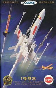 Estes 1998 Flying Model Rocket Catalog