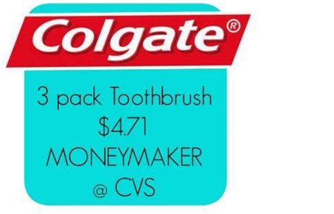 Hot Deal @ Cvs- Free Colgate + .71 Money Maker