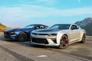 Chevrolet Chevy Camaro Ss 1le Vs  Ford Mustang Gt