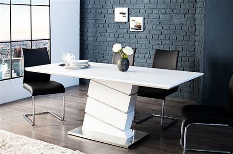 recherche table de salle a manger table de salle a manger blanc laqu 233 table bois et metal