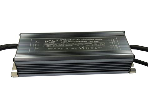 Dimmer Trafo by Mb Dimmbarer Led Trafo 12v Dc 100w Dimmbar Via 0 1 10v Ip67