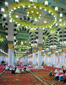 Inside Masijid-e-Nabvi(S.A.w)