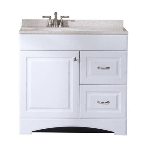 Shop Style Selections Almeta White Integral Single Sink