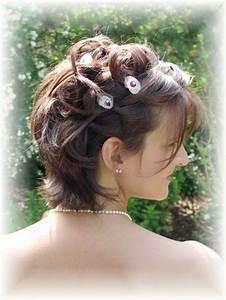 Coiffure Mariage Cheveux Court : modele coiffure mariage cheveux courts ~ Dode.kayakingforconservation.com Idées de Décoration