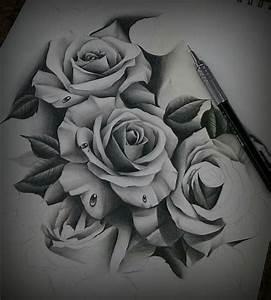 Rosen Tattoos Schwarz : wudey213 rosen pinterest rose blumen vorlage und vorlagen ~ Frokenaadalensverden.com Haus und Dekorationen