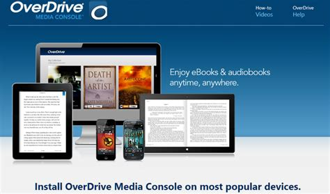 overdrive media console android app review
