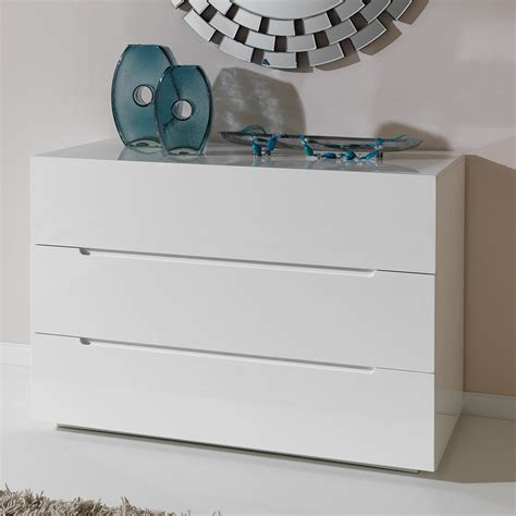 commode chambre blanche commode design laquee blanche 3 tiroirs urbano zd1 comod a