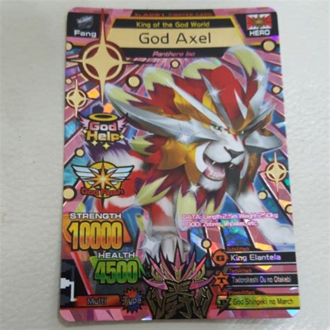 animal kaiser god axel toys games board games cards