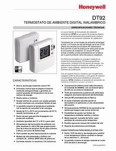 Termostato Digital Con Funci U00f3n Eco De Ahorro De Energ U00eda