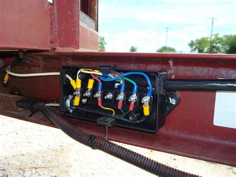 Truck Junction Box Wiring Diagram by Trailer Wiring Junction Box Spectro Accessories And Parts