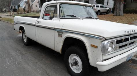 I have done alot to the truck since i bought it about 5 years ago.i bought the ruck on ebay from. For Sale - 1970 Dodge Power Wagon Truck 4x4   IH8MUD Forum