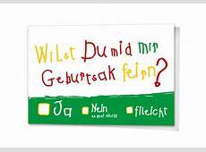 Einladungskarten Einladung Klappkarte Geburtstag Wilst