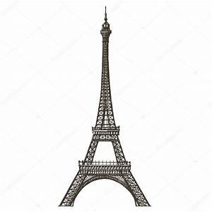 Eiffel tower vector logo design template. Paris or France ...