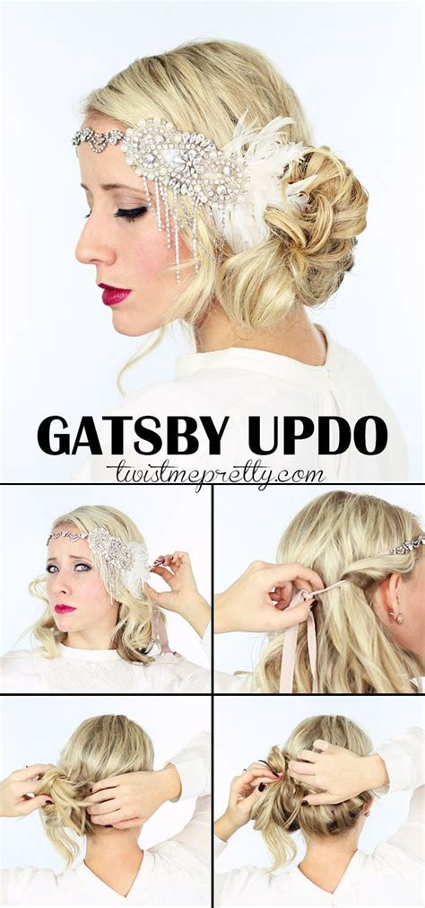1920 Updo Hairstyles by The Gatsby Hairstyles For Your 1920 Flapper