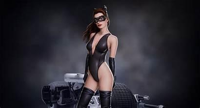 Hathaway Anne Catwoman 4k Bodysuit Shoot Actress
