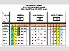 Download Kalender Pendidikan Jawa Tengah Tahun 20182019