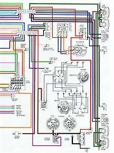 1968 Camaro Alternator Wiring Diagram