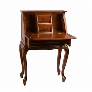 Small Secretary Desk in Dual Walnut - 3832