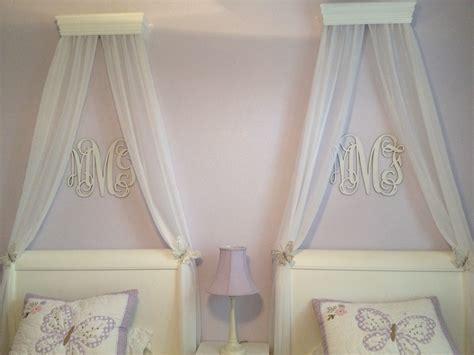 southern proper monograms monogram  bed girl room shared girls room