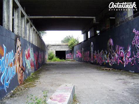Graffiti Zone : Free Graffiti Zone In Bratislava For Painting