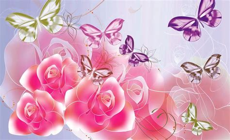Pink Roses Wallpapers Pink Roses Pc Backgrounds Vt
