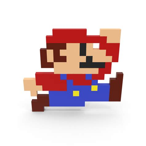 8 Bit Mario Png Images And Psds For Download Pixelsquid