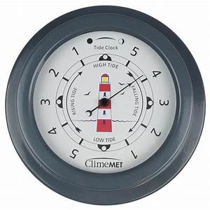 Climemet Red Lighthouse Tide Clock Cm4520  U2013 Skyview