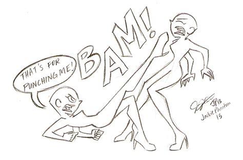 Fight Scene Sketch Base 2 By Jackiephantom13 On Deviantart