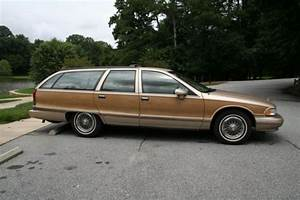 1994 Chevrolet Caprice Classic 5 7l 4-door Station Wagon Like 1995 1996