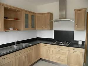 renovation cuisine chene cuisine idees de decoration With cuisine en chene
