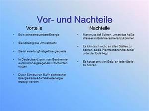 Sonnenenergie Vor Und Nachteile : erdw rme geothermie ppt video online herunterladen ~ Orissabook.com Haus und Dekorationen