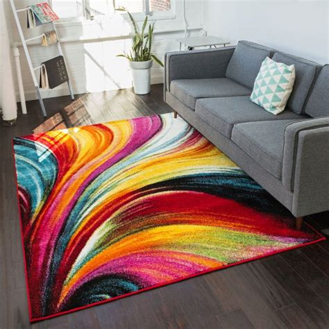 colorful area rugs apartment decorating ideas bright and diy apartment