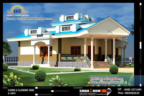 surprisingly affordable home plans single floor house plan elevation kerala home home