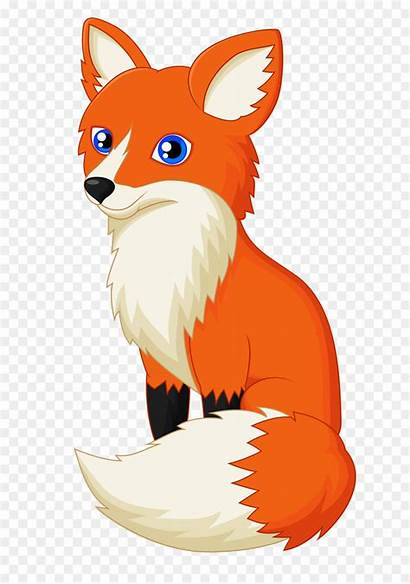Fox Clipart Cartoon Illustration Orange Transparent Clip