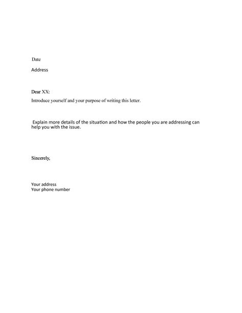 formal template 35 formal business letter format templates exles template lab