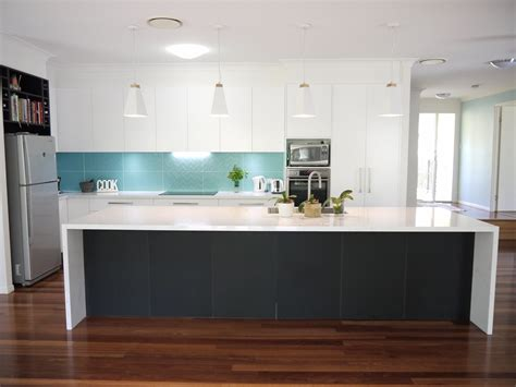 black or white kitchen cabinets white black with a turquoise pop 7896