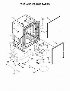 Whirlpool Model Wdt750sahz0 Dishwasher Genuine Parts