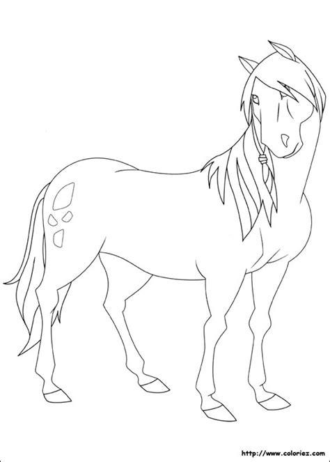 coloriages de dessins animes le ranch
