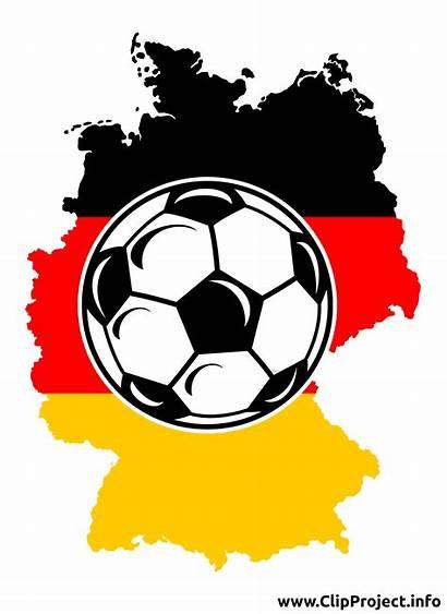 Clip Germany Soccer Clipart Fussball Football Tyskland