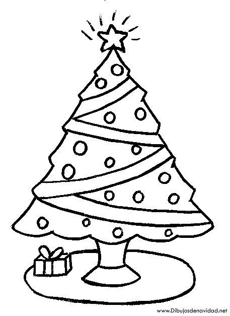 arbol navidad dibujo imagui