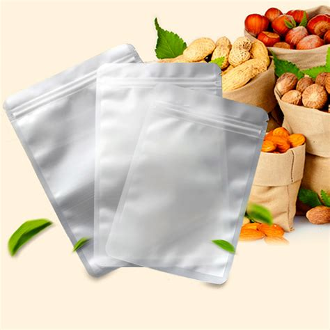 spice wholesale package bag top zip plastic food packaging  side seal ziplock aluminium foil
