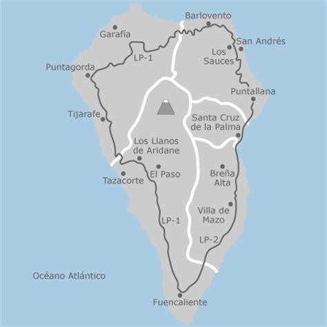 mapa de la palma santa cruz de tenerife idealista