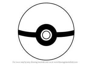 how to draw pokeball from pokemon