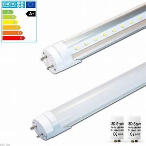 Led Leuchtstofflampe Komplett : t8 led r hre tube leuchtstoffr hre leuchtstofflampe komplett lichtleiste r ehre ebay ~ Eleganceandgraceweddings.com Haus und Dekorationen