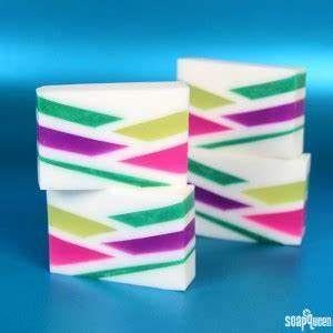 Neon Geometric Melt & Pour Soap Tutorial Soap Queen