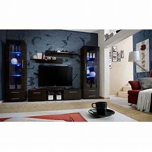 ensemble meuble tv bibliotheque quotgalino iii coffeequot wenge With ensemble meuble tv et bibliotheque